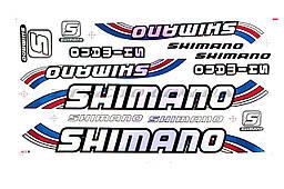 Наклейка   SHIMANOI (20х40см)  1 (N-2920)