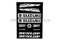 Наклейка   SUZUKI (22х35см)  (N-2919)
