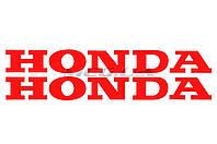 Наклейка   буквы   (mod:Honda  19х5см, 2шт, красные)   (#HCT10002) (N-636)