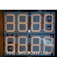Табло для  АЗС LED-ART-Stela-250-19 светодиодное, ценовой модуль для АЗС