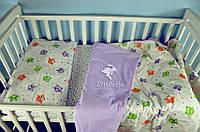 Детское постельное белье с совятами