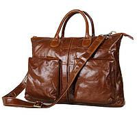 Кожаная стильная сумка 7241B, фото 1