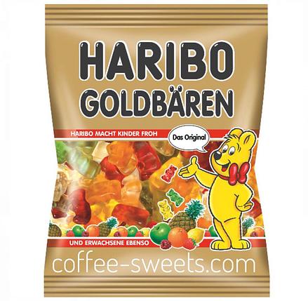 Жевательный мармелад Haribo Goldbaren 200г, фото 2