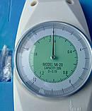 Динамометр аналоговий пружинний NK-20 ( ТАК-20 ) ( 0.1 Н / 0,01 кг ) до 2 кг, фото 3