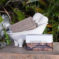 "Натуральное оливковое мыло Olivos SPA ""Лечебные грязи"" Purifyng Mud 250 гр"
