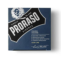 Освежающие влажные салфетки Proraso Azur & Lime 6 шт