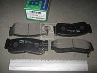 Колодки тормозные дисковые HYUNDAI SANTAFE(CM) 05MY(-SEP 2006) (PARTS-MALL). PKA-032, фото 1