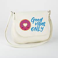 Сумочка Габриела с вышивкой Пончик флай, фото 1