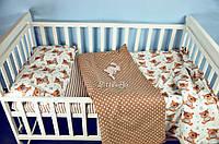 Детское постельное белье с мишками Тедди