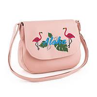 Сумочка Габриела с вышивкой Фламинго флай, фото 1