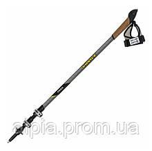 Палки для скандинавской ходьбы Vipole Trail QL Carbon Top-Click DLX S1866 (Carbon)