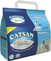 Catsan Hygiene plus - Катсан - Минеральный наполнитель для кошачьих туалетов - 5л