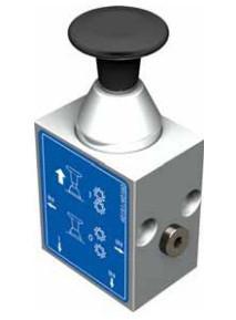 Трехлинейный двухпозиционный клапан управления Push-pull OMFB