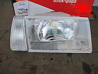 Фара ВАЗ 2108, 2109, 21099 левая. Белый поворотник (пр-во ОАТ-ОСВАР). 931.3711-БЛ Ціна з ПДВ