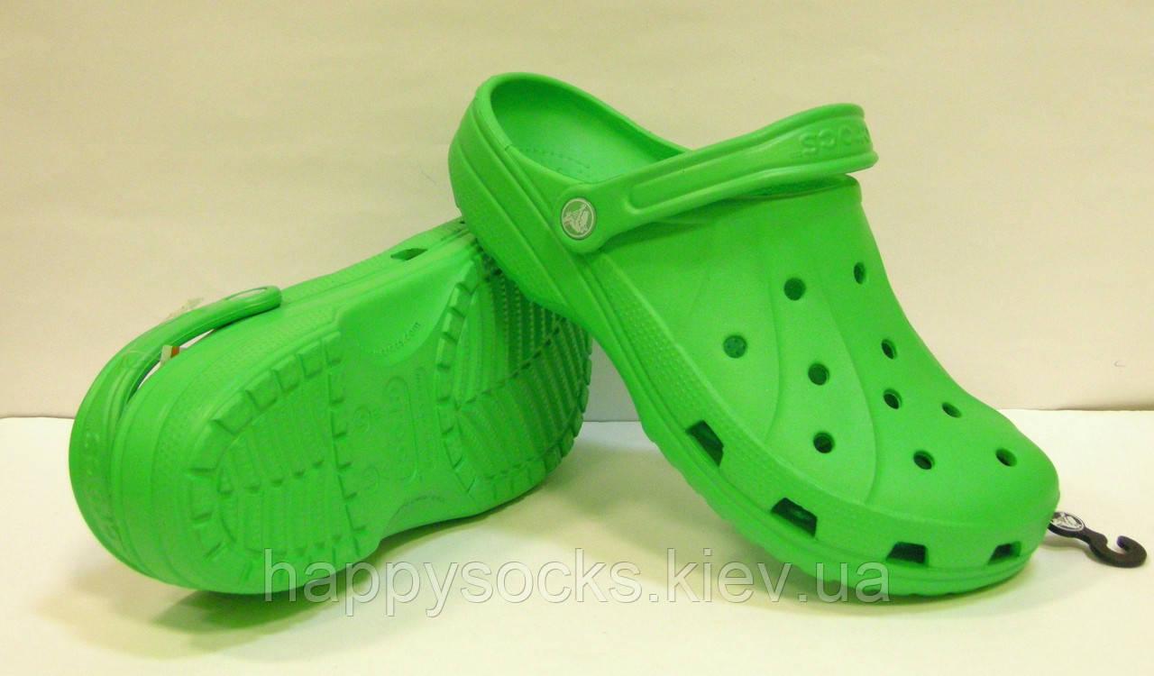 Сабо Crocs Ralen Clog лаймового цвета