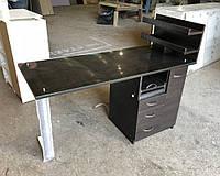 Стол для маникюра со стеклом на столешнице и УФ лампой V227, фото 1