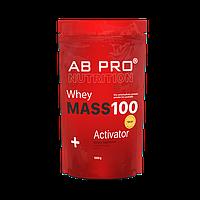 Гейнер 1000г (30 % белка) MASS 100+ Whey Activator AB PRO