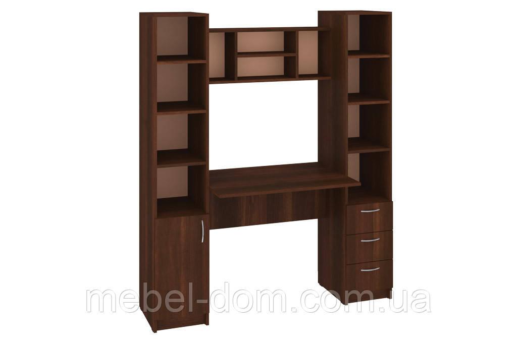 Стол письменный Гранд, стол с надстройкой, с пеналами