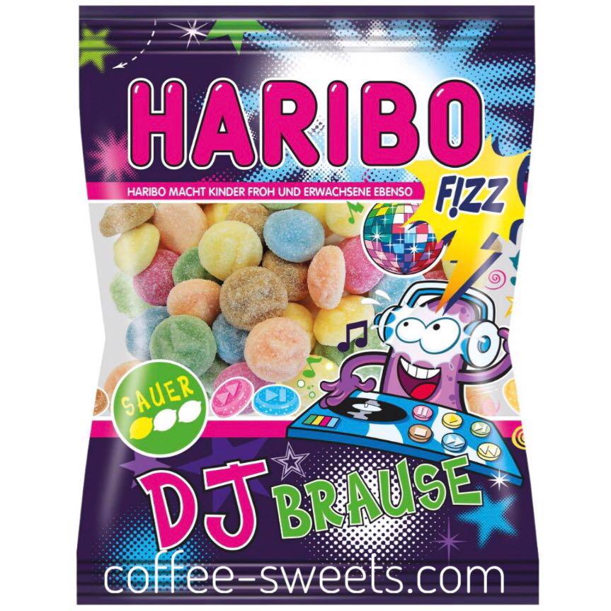 Жевательные конфеты Haribo DJ Brause 175гр
