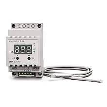 Терморегулятор, регулятор температуры цифровой на DIN-рейку ТР-16Д (16А, 220В)