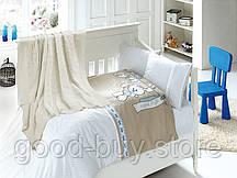 Постельное белья c вязанным покрывалом для новорожденных First Choice Nirvana BABY MAV бамбук