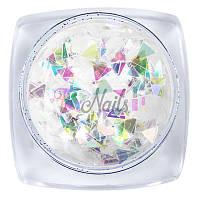Радужный декор №005, треугольники