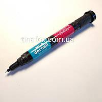 Карандаш маркер для ногтей  2в1