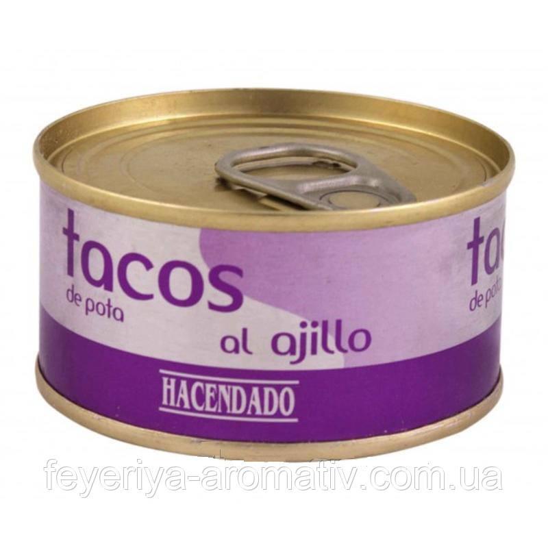Осьминог с чесноком Tacos de pota al ajillo 80g (Испания)