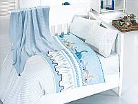 Постельное белья c вязанным покрывалом для новорожденных First Choice Nirvana GINNY MAVI бамбук