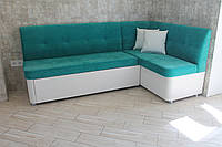 Уголок мягкий со спальным местом на кухню (Салатовый), фото 1