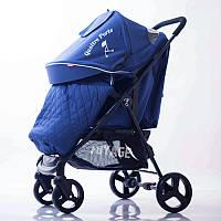 Детская коляска Quattro Porte QP-234 Blue Синяя
