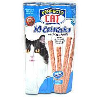 Perfecto Cat Лакомство для котов со вкусом рыбы 10 шт.