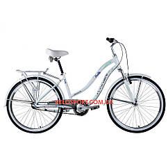 Городской велосипед Winner Pretty 26 дюймов белый