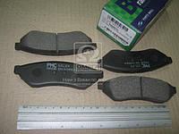 Колодки тормозные дисковые DAEWOO MAGNUS(V200) (PARTS-MALL). PKC-017