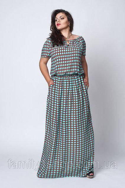 873e3feb627 Платье женское больших размеров