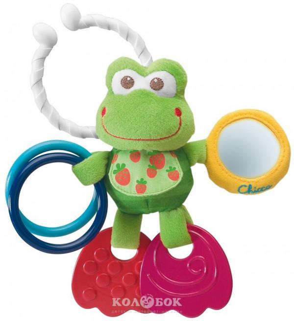 Игрушка-погремушка Chicco Лягушонок