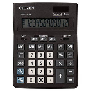 Калькулятор Citizen CDB1201-BK настольный, 12р., фото 2