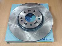 "Диск тормоза переднего HYUNDAI i40 1.6-2.0 2011>, i35 2010>, KIA SPORTAGE (SL) ""BLUE PRINT"" ADG043158, фото 1"