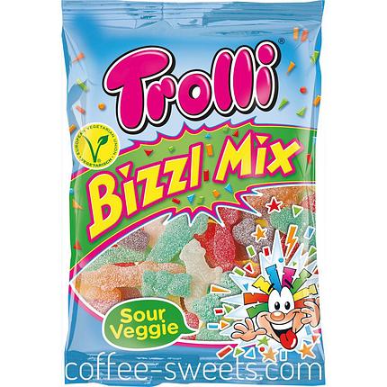 Жевательные конфеты Trolli Bizzl Mix 200g, фото 2