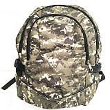 Рюкзаки спорт стиль текстиль (черный)30*44, фото 3