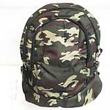 Рюкзаки спорт стиль текстиль (черный)30*44, фото 2