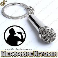 """Брелок Мікрофон - """"Microphone Keychain"""" + подарункова упаковка, фото 1"""