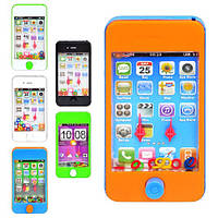 Игра водяная M 1100 (360шт) телефон, 6 цветов, в кульке, 11,5-6см