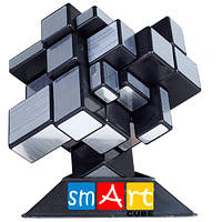 Кубик рубика Зеркальный Smart Cube серебристый (КВ)