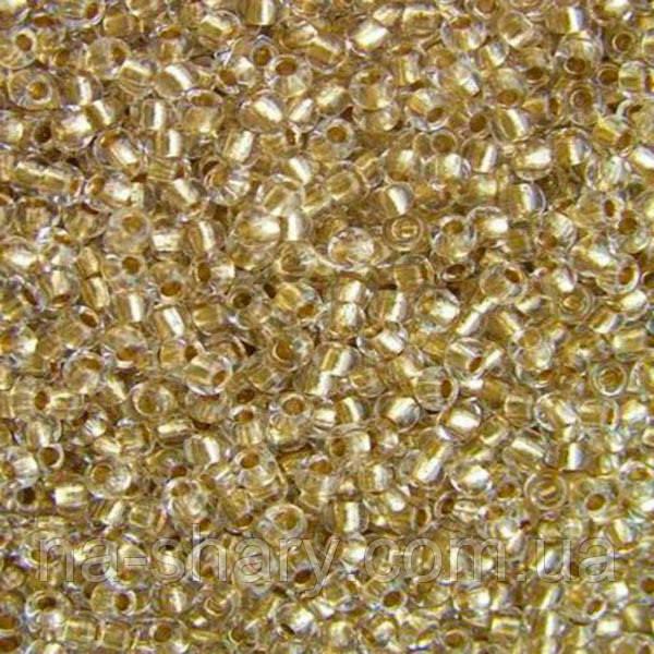 Чешский бисер для рукоделия Preciosa (Прециоза) оригинал 50г 33119-68106-10 золотистый
