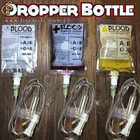 """Складная бутылка для воды в виде капельницы - """"Blood Dropper"""", фото 1"""