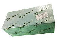 Листовое бумажное полотенце Z/Zзеленое(200 листов) Каховинка  (1 пач)