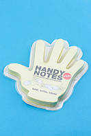 Рука - блокнот со стикерами