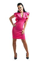 """Летнее женское платье """"Chanel"""" цвет малиновый"""