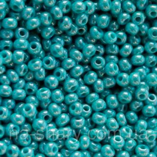 Чешский бисер для рукоделия Preciosa (Прециоза) оригинал 50г 33119-68030-10 морская волна